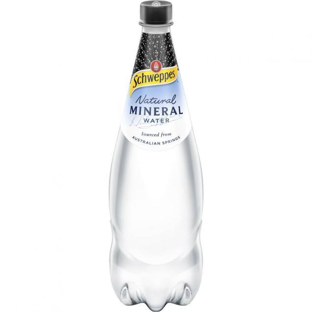 1.1 Litre Soft Drinks: Sparkling Mineral Water
