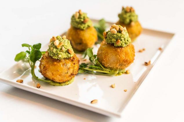 Vegetarian Risotto Balls