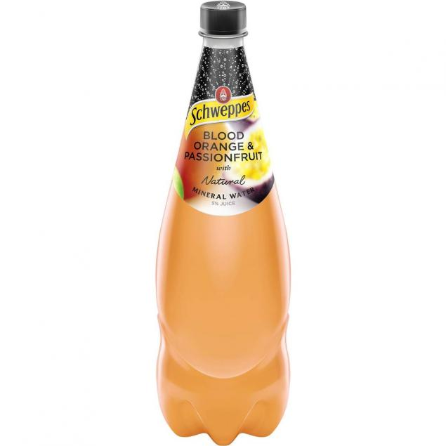 1.1 Litre Soft Drinks: Flavoured Mineral Water
