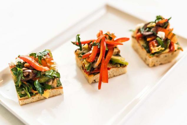 Mini Vegetarian Pizza