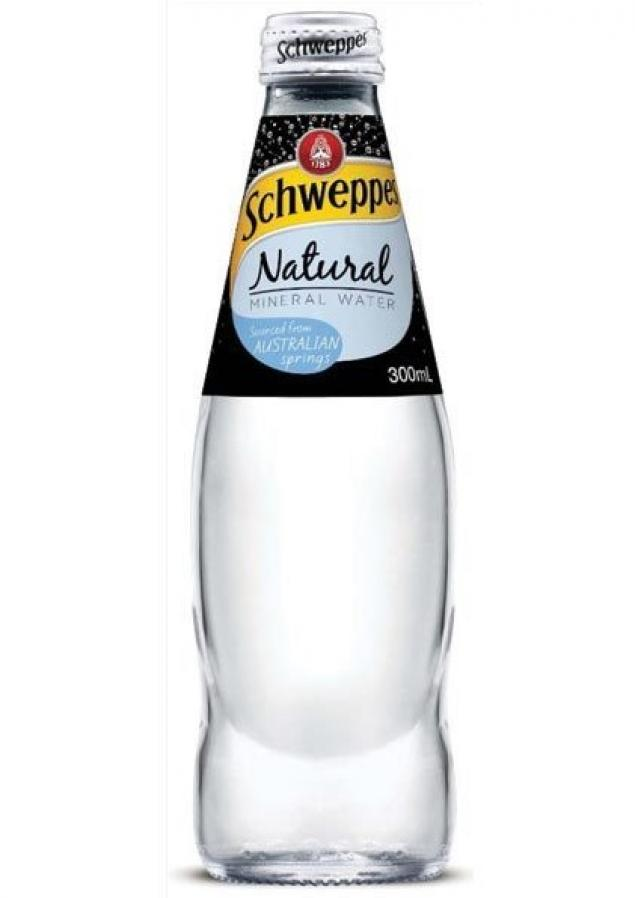 300mL Schweppes Mineral Water