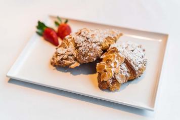 Mini Almond Croissants