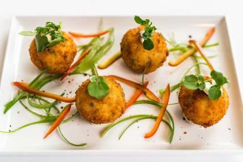 GF Vegetarian Risotto Balls