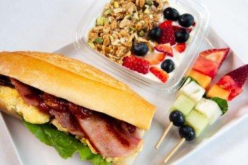 Egg & Bacon Breakfast Box