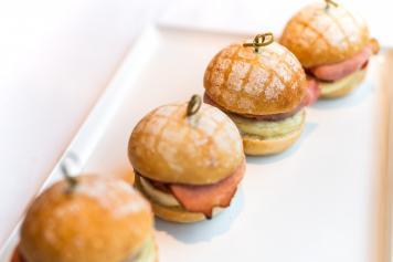 Mini Egg & Bacon Rolls