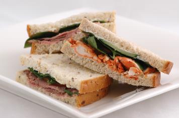 Classic Cobb Sandwiches